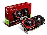 MSI NVIDIA GeForce GTX 1050 Ti Gaming X 4G Grafikkarte (GDDR5, HDMI, DP, DL-DVI-D, Afterburner OC, VR-Ready) schwarz