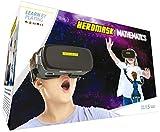 Heromask: VR Headset + Mathe Spiele [Einmaleins, Kopfrechnen.] Interaktives Spielzeug für Kinder 5 6 7 8.12 Jahren. 3D AR VR Brille - Geschenke für Kinder Geburtstag - Weihnachten. VR Spiele