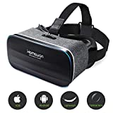 3D VR Brille Headset für Handy, Virtual-Reality-Brille mit Panorama-Sicht, 360 Grad, für iPhone & Android Smartphone von 4,0-6,0 Zoll